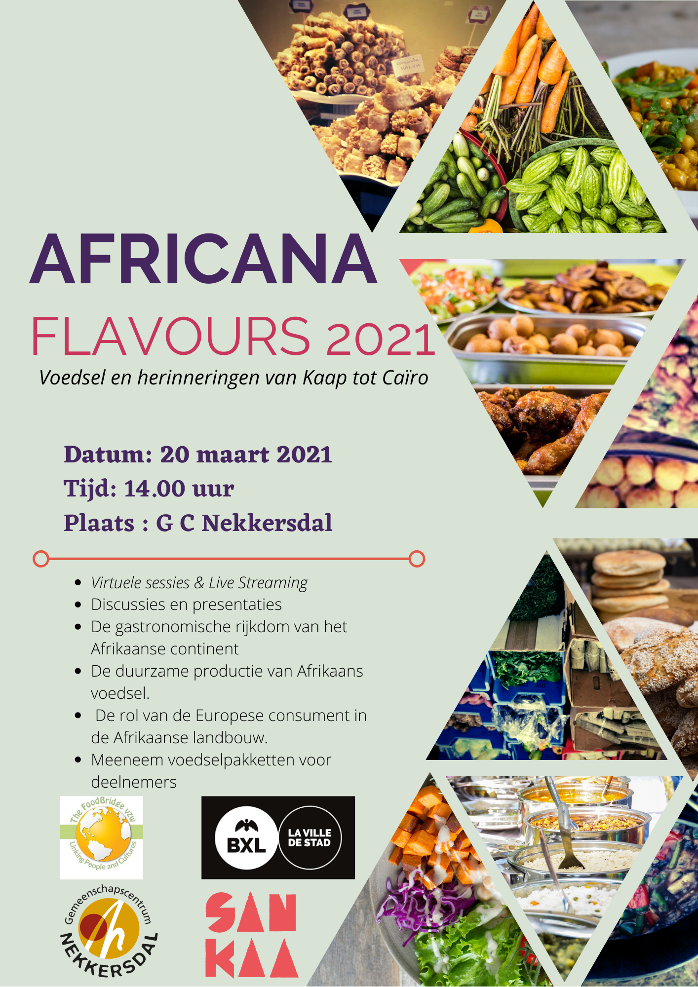 Africana Flavours 2021 with Logos