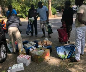 Helping Hand Project's Covid-19 Food Donations for African Students